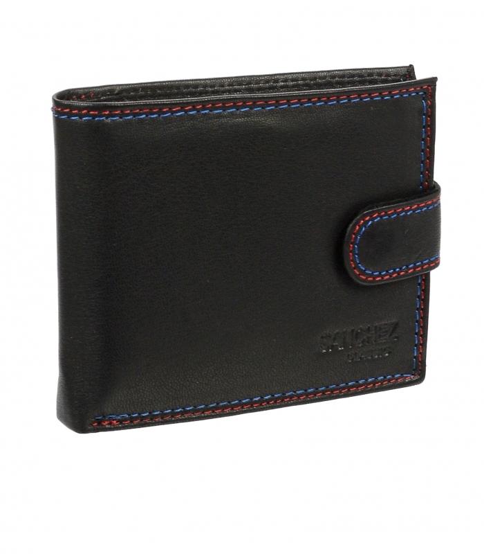 Pánska kožená peňaženka v darčekovej krabičke Sanchez