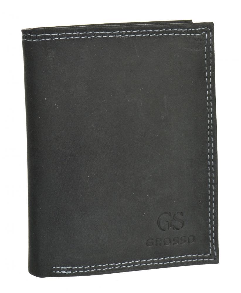 Pánská peněženka z broušené kůže RFID v krabičce GROSSO