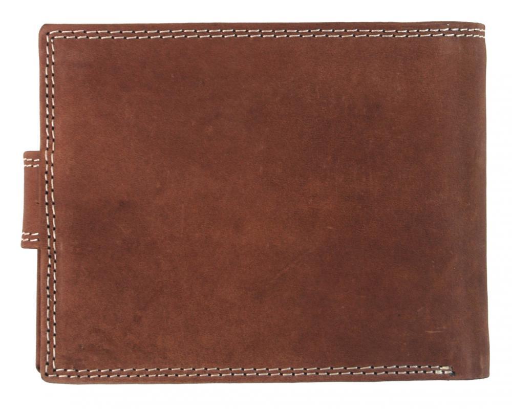 Pánska peňaženka z brúsenej kože WILD 987 opálová hnedá