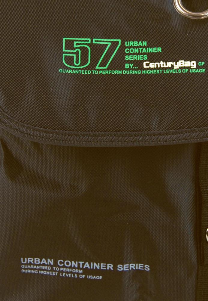 Menší pánská crossbody taška C52 tmavě hnědá