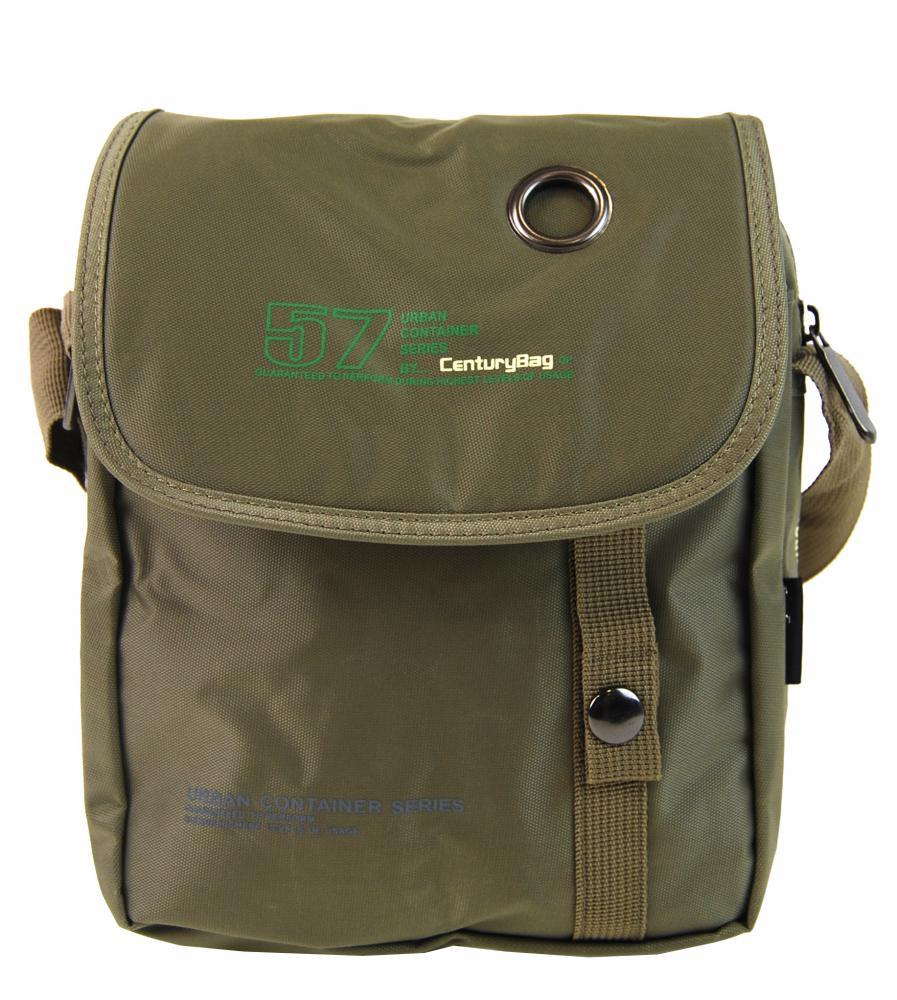 Menšia pánska crossbody taška C52 vojenská khaki