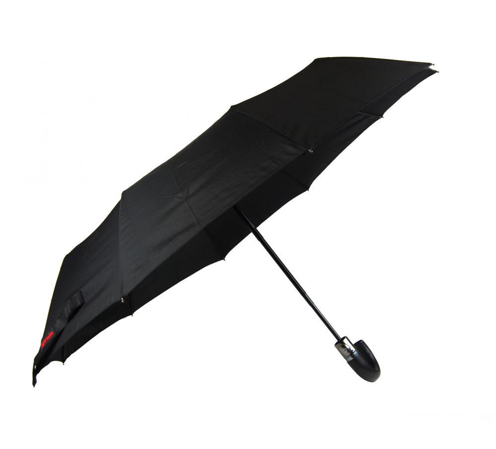 New Berry pánsky automatický dáždnik čierny A-011
