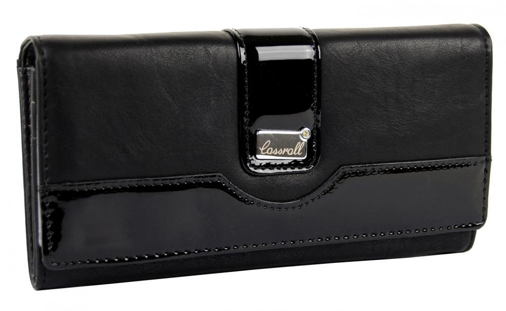 Čierna dámska peňaženka Cossroll B31-5242F-2