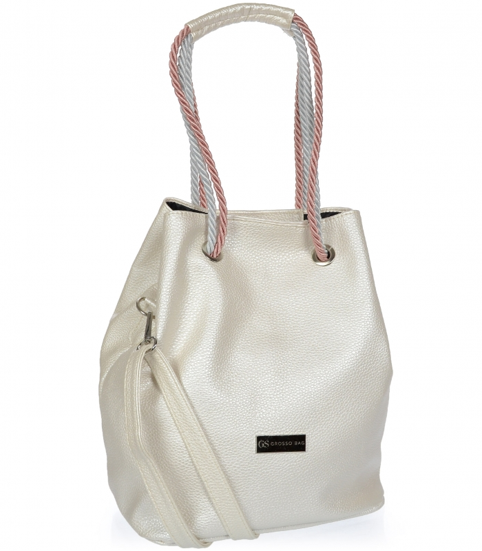 Perleťová dámská kabelka přes rameno S738 GROSSO