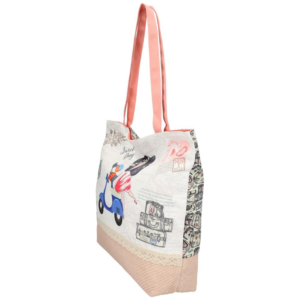 Sweet & Candy Veľká plážová taška s potlačou M2
