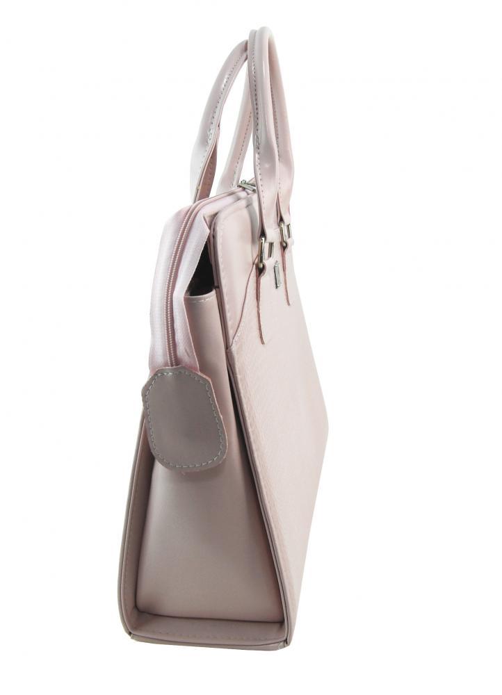 PUNCE LC-01 púdrová matná dámska kabelka pre notebook do 15.6 palca