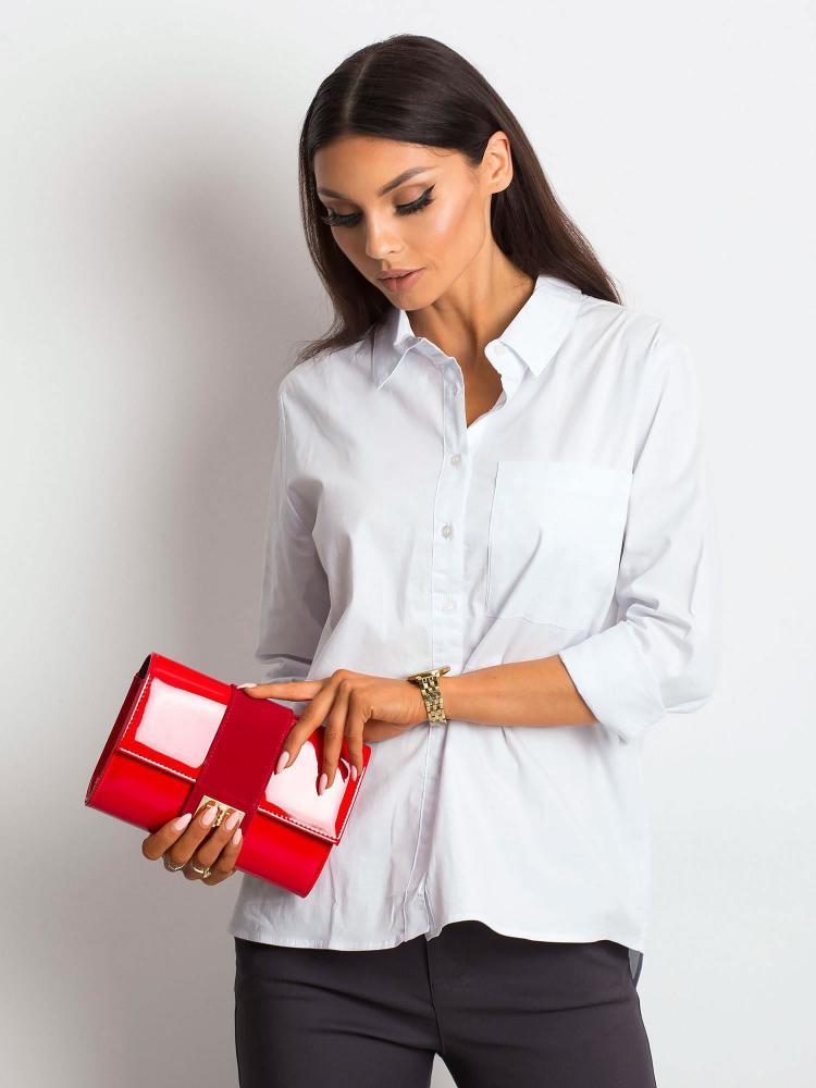Červené lakované dámské psaníčko / kabelka W66 ROVICKY
