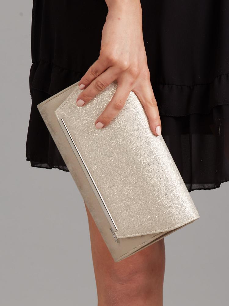 Zlaté luxusní dámské psaníčko W52 ROVICKY