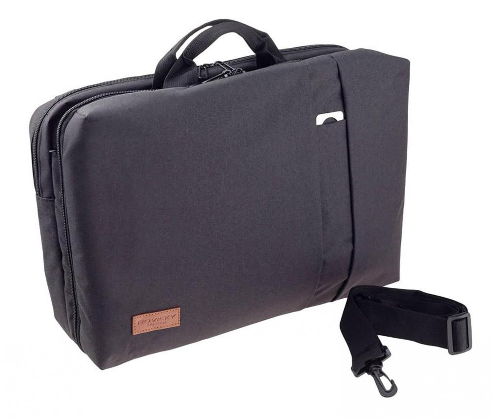 ROVICKY Multifunkčný pánsky batoh čierny