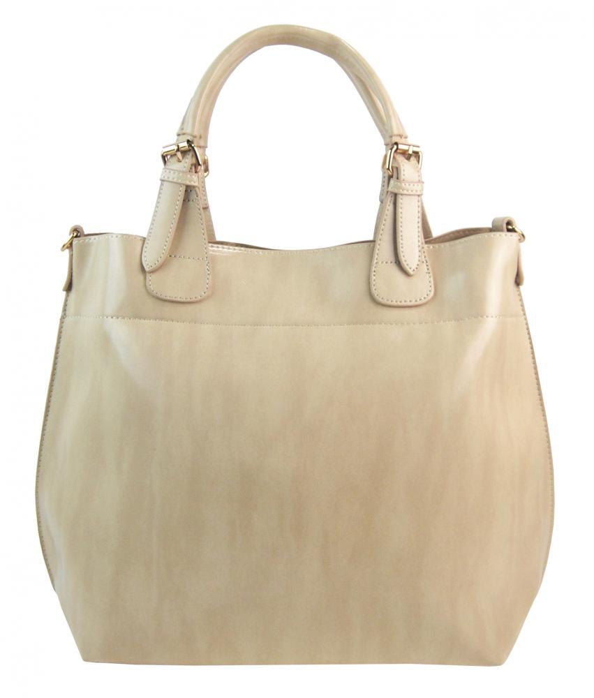 Veľká mramorová dámska shopper kabelka 3435-MM