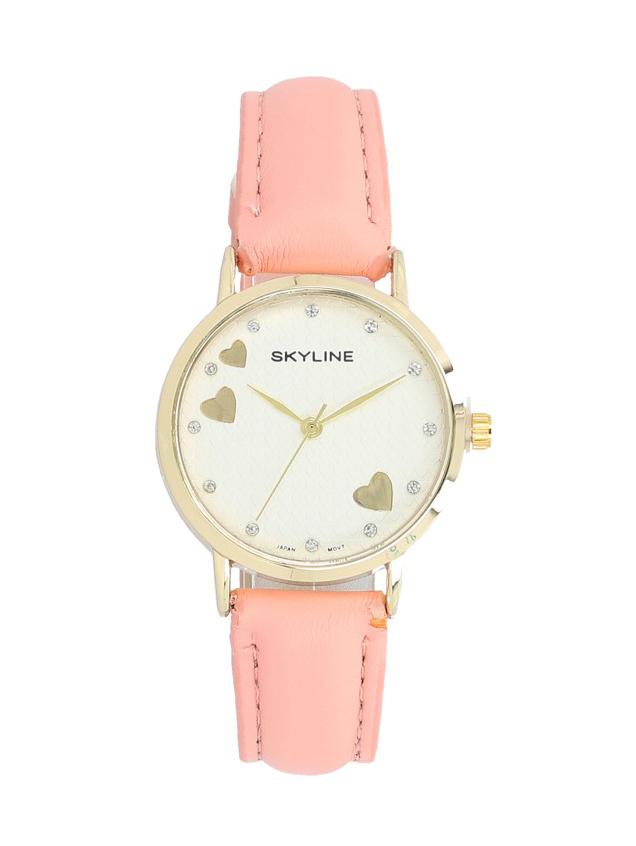 Náramkové dámské hodinky s kamínky Skyline Quartz 9300-8