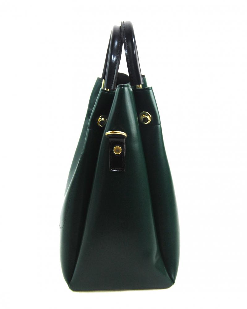 Smaragdová zelená elegantní dámská kabelka S728 GROSSO