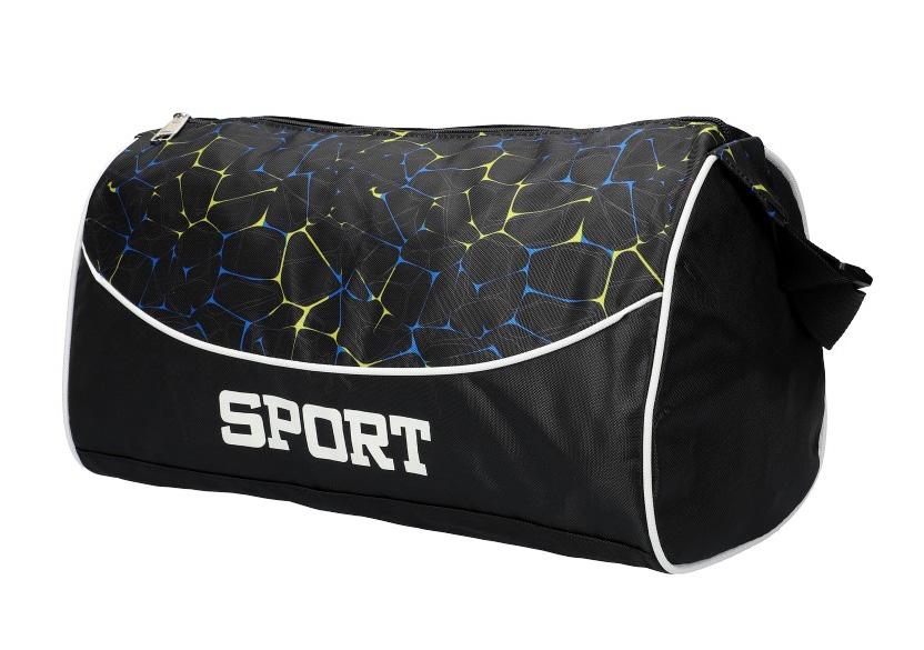 Černá menší sportovní taška Unisex 8105 M1