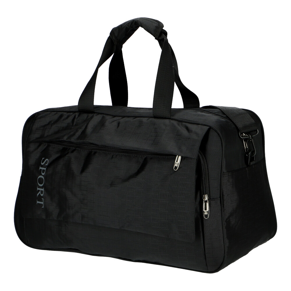 Černá sportovní taška Unisex veľká