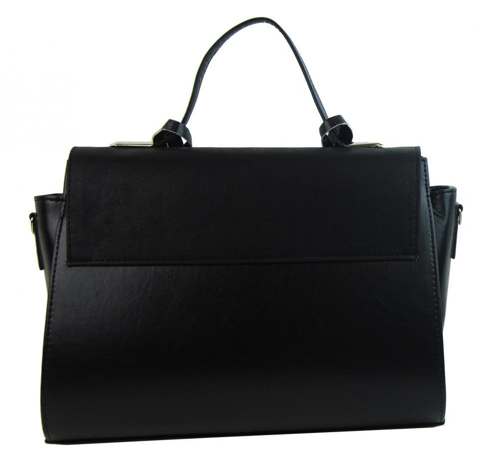 Stylová dámská kabelka S754 černá GROSSO