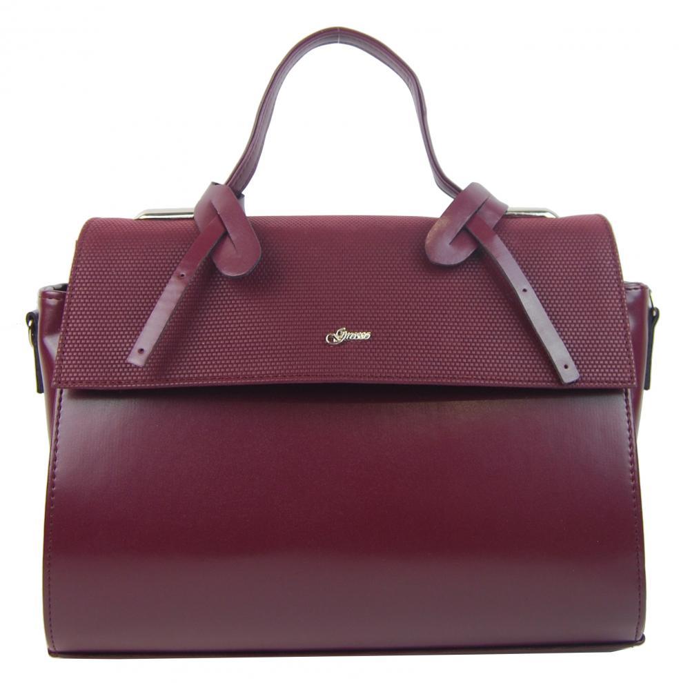 GROSSO Vinová dámská stylová kabelka S754