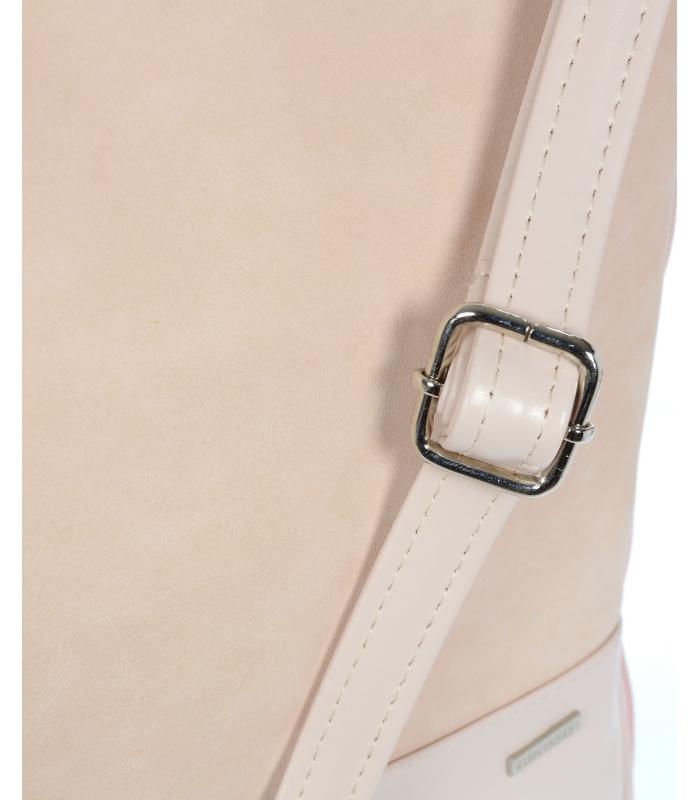 Světle růžová crossbody kabelka M151 GROSSO