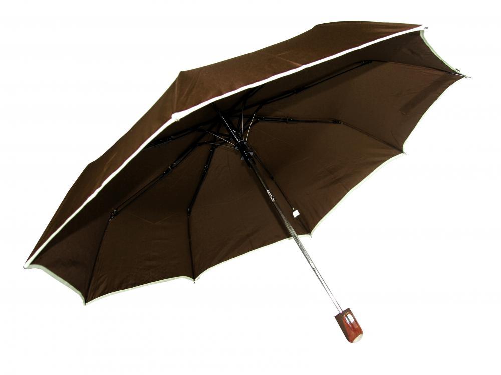 New Berry UNISEX vystreľovací dáždnik hnedý A-018