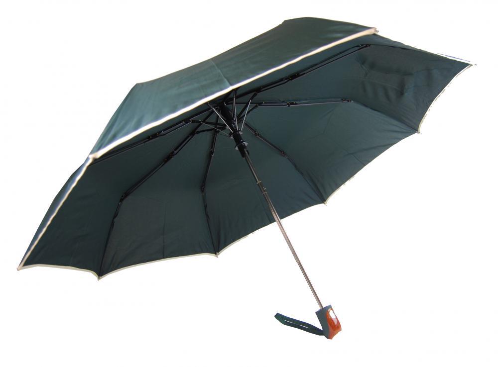New Berry UNISEX vystreľovací dáždnik zelený A-018