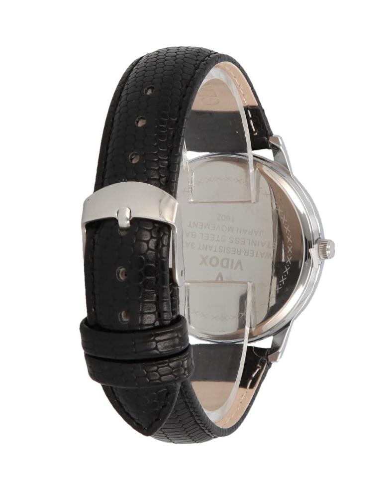 Náramkové dámske strieborné hodinky Vidox Quartz CC15054