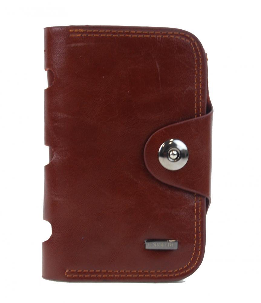 Tmavě hnědá dámská peněženka v krabičce Cavaldi