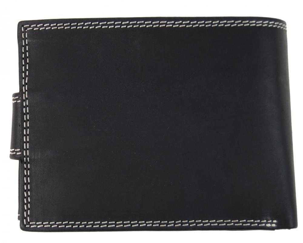 Pánska peňaženka z brúsenej kože WILD 964 čierna