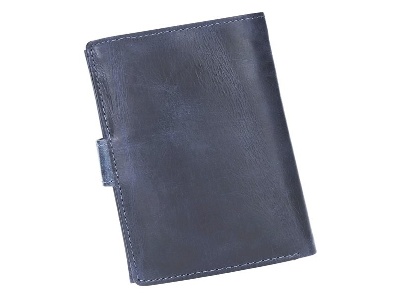 Kožená pánska peňaženka piesková hnedá RFID v krabičke WILD