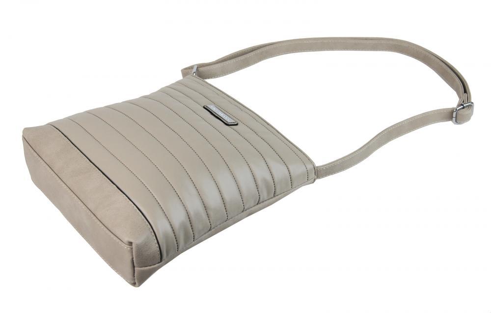 Elegantní prošívaná crossbody kabelka YH1601 béžová