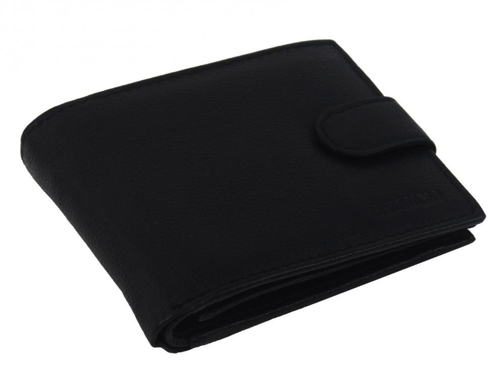 Bellugio čierna pánska kožená peňaženka